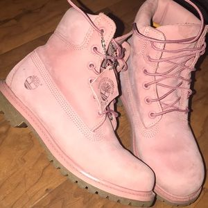 Timberland Shoes - Dusty Rose Timberlands